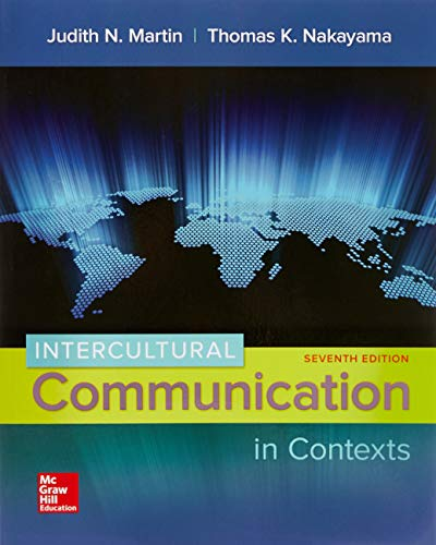 9780073523934: Intercultural Communication in Contexts
