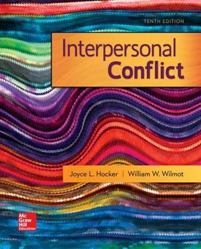 how is interpersonal conflict portrayed within Title of monograph: chinese methods of interpersonal conflict management  approved  presented in this monograph to these two conflicts.