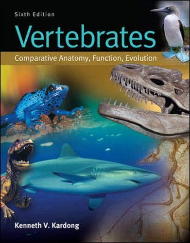 9780073524238: Vertebrates: Comparative Anatomy, Function, Evolution