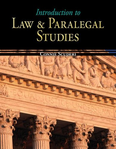 9780073524634: Introduction to Law & Paralegal Studies