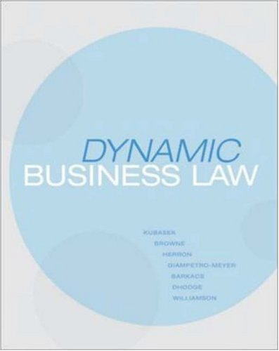 9780073524917: Dynamic Business Law