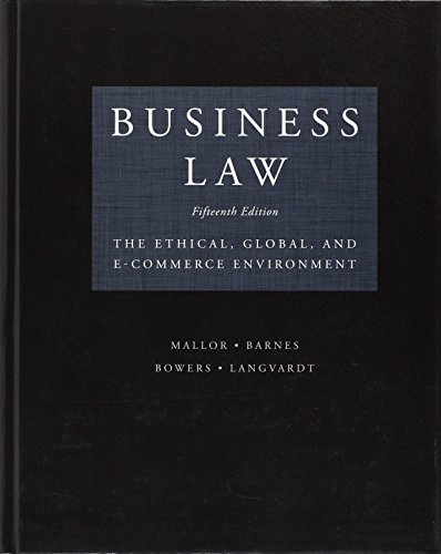 9780073524986: Business Law