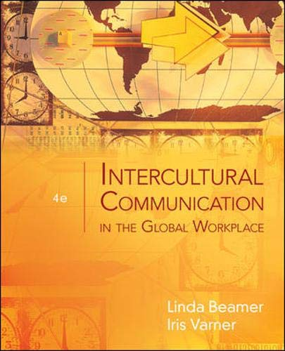 9780073525068: Intercultural Communication in the Global Workplace