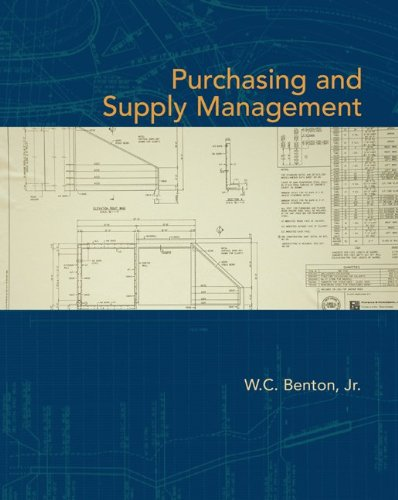9780073525143: Purchasing and Supply Management