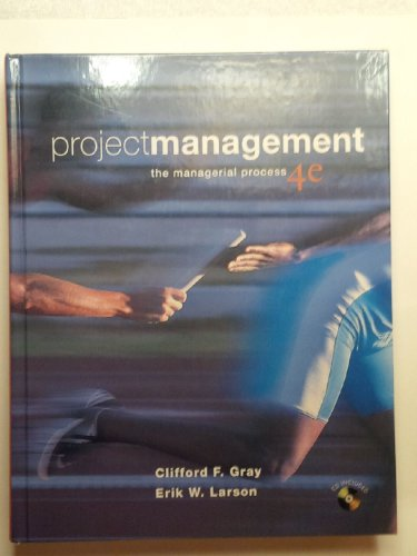 9780073525150: Project Management: The Managerial Process (McGraw-Hill/Irwin Series Operations and Decision Sciences)