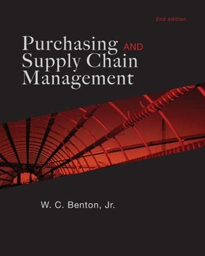 9780073525198: Purchasing and Supply Chain Management