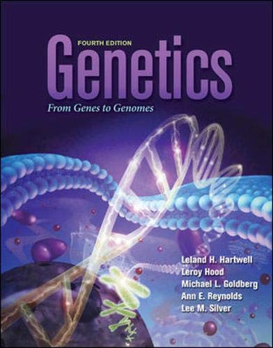 9780073525266: Genetics: From Genes to Genomes (Hartwell, Genetics)