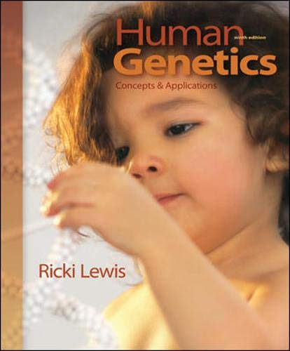 9780073525273: Human Genetics: Concepts and Applications
