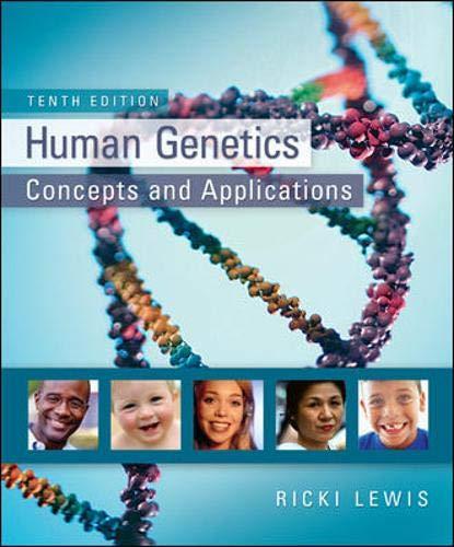 9780073525303: Human Genetics
