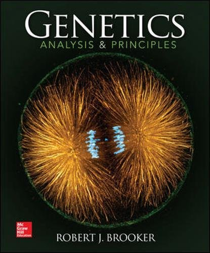 9780073525341: Genetics: Analysis and Principles (WCB Cell & Molecular Biology)