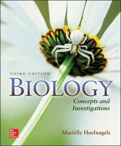 9780073525549: Biology: Concepts and Investigations