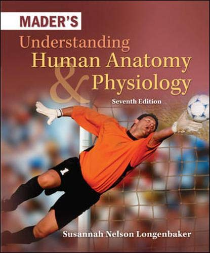 9780073525624: Mader's Understanding Human Anatomy & Physiology