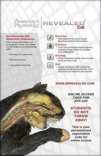9780073525754: Anatomy & Physiology Revealed Student Access Card (Cat Version)