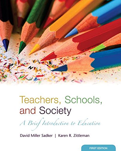 9780073525839: Teachers, Schools, and Society: A Brief Introduction to Education