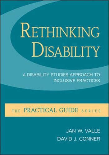 9780073526041: Rethinking Disability: A Disability Studies Approach to Inclusive Practices (Practical Guides (McGraw-Hill))