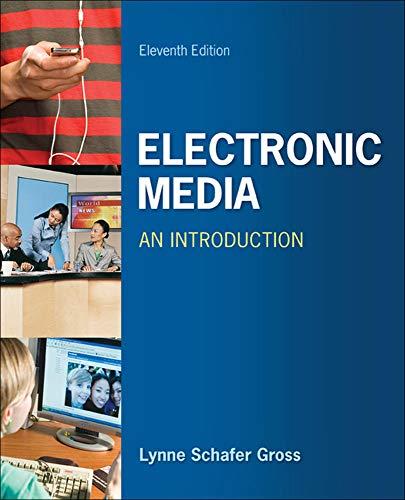 9780073526164: Electronic Media: An Introduction (B&B Journalism)