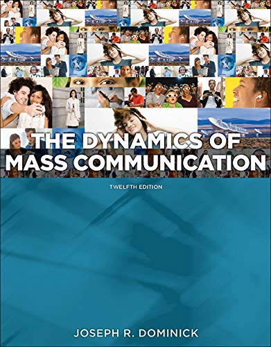 9780073526195: Dynamics of Mass Communication: Media in Transition (B&B Journalism)