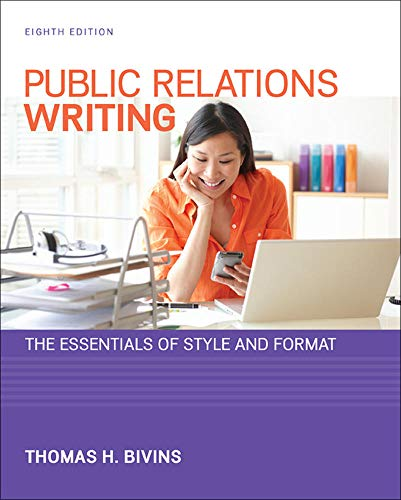 9780073526232: Public Relations Writing: The Essentials of Style and Format