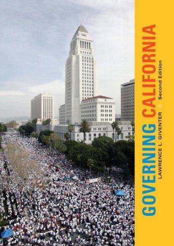9780073526331: Governing California
