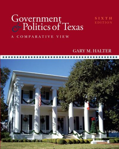 9780073526348: Government and Politics of Texas
