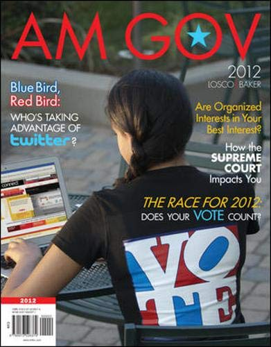 9780073526379: AM GOV 2012