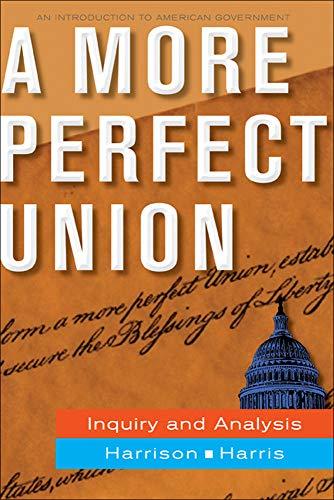 9780073526386: A More Perfect Union