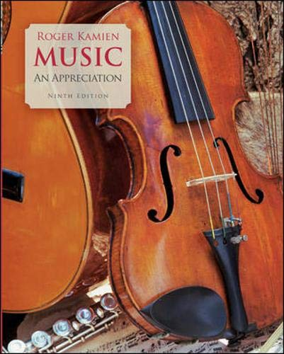 Music: An Appreciation: Kamien, Roger