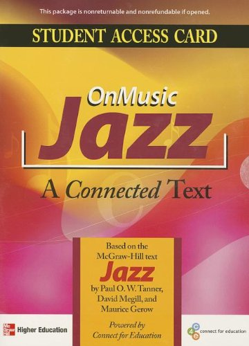 9780073526607: OnMusic Jazz Access Card
