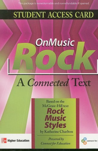 OnMusic Rock Access Card: Connect For Education, Inc.