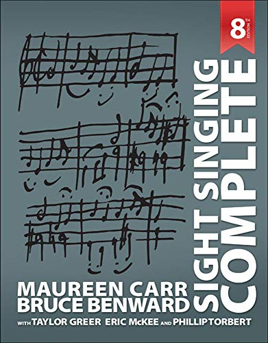 Sight Singing Complete: Carr Sightsinging Complete,