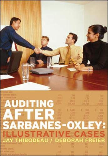 9780073526690: Auditing After Sarbanes-Oxley