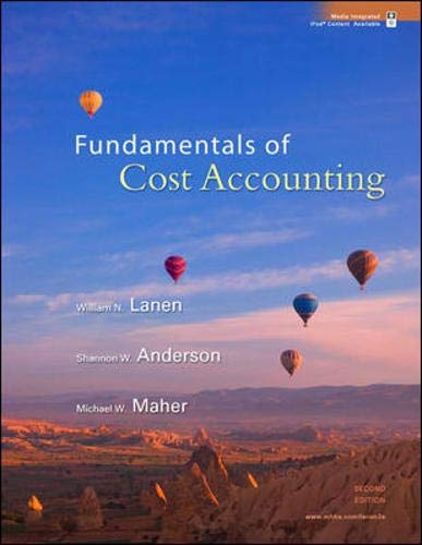 9780073526720: Fundamentals of Cost Accounting