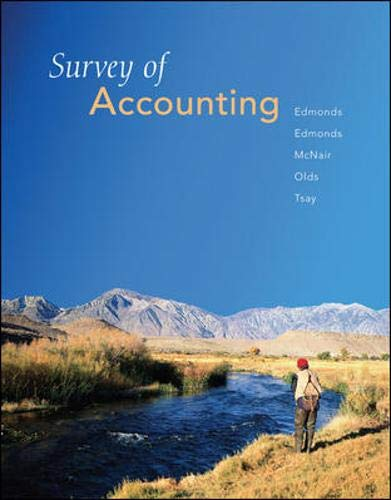 9780073526775: Survey of Accounting