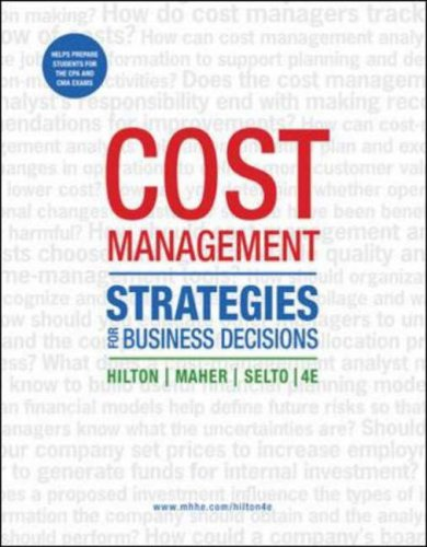 9780073526805: Cost Management: Strategies for Business Decisions