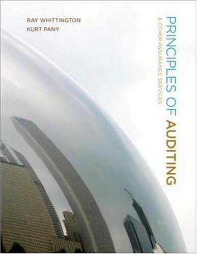 9780073526867: Principles of Auditing and Other Assurance Services