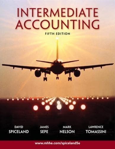 9780073526874: Intermediate Accounting