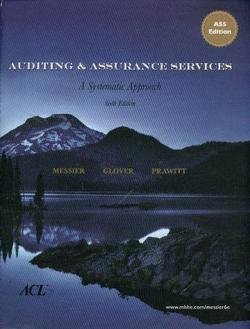 9780073526904: Auditing & Assurance Services: A Systematic Approach, 6th Edition