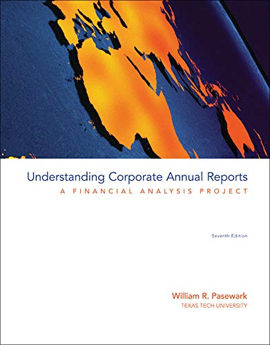 9780073526935: Understanding Corporate Annual Reports: A Financial Analysis Project