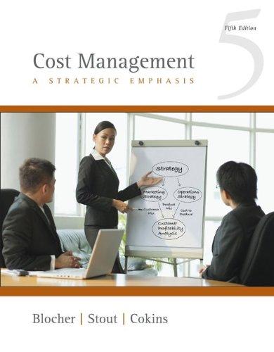 9780073526942: Cost Management: A Strategic Emphasis