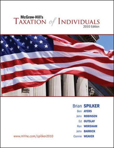 9780073526959: Taxation of Individuals, 2010 edition