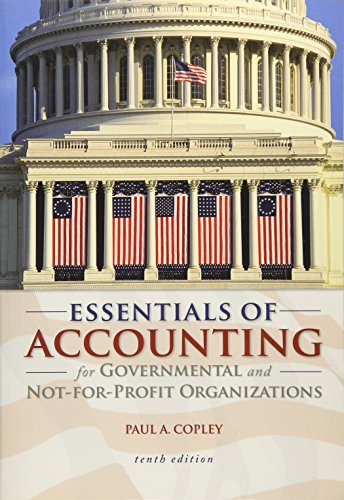 9780073527055: Essentials of Accounting for Governmental and Not-for-Profit Organizations