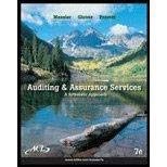 9780073527086: Auditing and Assurance Services