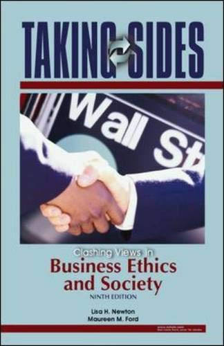 9780073527208: Taking Sides: Clashing Views in Business Ethics and Society