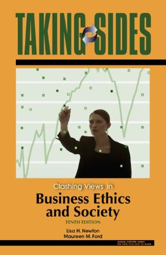 9780073527277: Taking Sides: Clashing Views in Business Ethics and Society