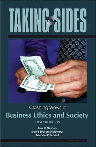 9780073527314: Taking Sides: Clashing Views in Business Ethics and Society