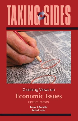 9780073527345: Taking Sides: Clashing Views on Economic Issues