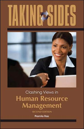 9780073527369: Taking Sides: Clashing Views in Human Resource Management