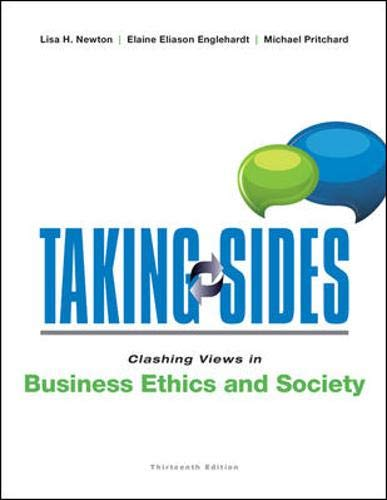 9780073527390: Taking Sides: Clashing Views in Business Ethics and Society