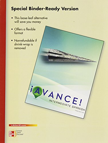 9780073527444: PK LOOSELEAF AVANCE W/ CNCT/LRNSMRT