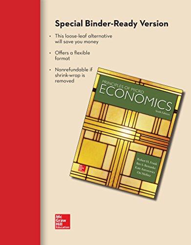9780073527703: Loose-Leaf Principles of Microeconomics
